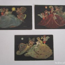 Cartes Postales: POSTALES ANTIGUAS - MARIPOSAS - CASA ED. BALLERINI & FRATINI, FIRENZE ITALY. Lote 223301668