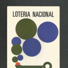 Postales: POSTAL SIN CIRCULAR LOTERIA NACIONAL SERIE 1 Nº5 EDITA SERVICIO NACIONAL DE LOTERIAS. Lote 234827225