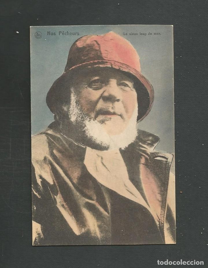 POSTAL CIRCULADA MARINERO FECHADA EL 2 DE SEPTIEMBRE DE 1915 EDITA NELS (Postales - Postales Temáticas - Estilo)