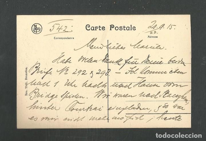 Postales: POSTAL CIRCULADA MARINERO FECHADA EL 2 DE SEPTIEMBRE DE 1915 EDITA NELS - Foto 2 - 254921455