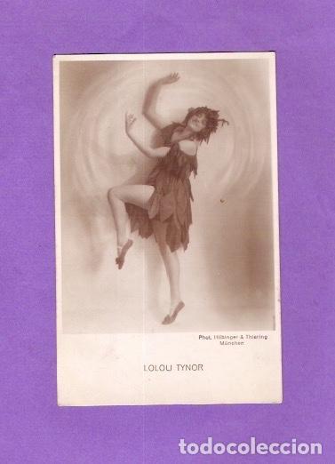 TARJETA FOTOGRÁFICA CPA CABARET LOULOU TYNOR MUNCHEN MUNICH 1930 (Postales - Postales Temáticas - Estilo)