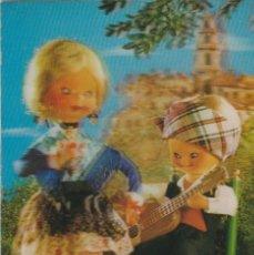 Cartes Postales: POSTAL - 3D - MUÑECOS BATURROS MAÑICOS - RIGIDA - R 286 - ED ESCUDO DE ORO - AÑO 1973 - ESCRITA. Lote 266458878