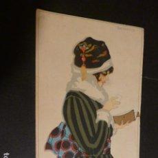 Postales: MUJER ESTILO ART DECO POSTAL RAIMOND ILUSTRADOR AÑOS 20. Lote 275858968