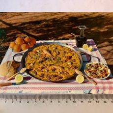 Postales: POSTAL. PAELLA VALENCIANA. GARCIA GARRABELLA Y CÍA.. Lote 275888063