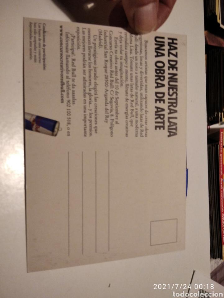 Postales: Postal Red Bull 1 concurso creativo - Foto 2 - 277098463