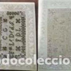 Postales: POSTAL BORDADA CON PEDRERIA. Lote 293313368