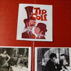 Postales: LOTE POSTALES CINE TIPO COLL Y COLETTE 3. Lote 297116603