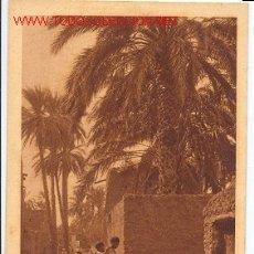 Postales: TARJETA POSTAL ANTIGUA, 163 VILLAGE ARABE. EDICIONES L & L. Lote 20628484