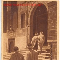 Postales: TARJETA POSTAL ANTIGUA. 161 ARABES ENTRANT DANS LA MOSQUEÉ. EDICIONES L & L. Lote 20628526