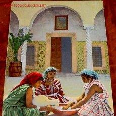 Postales: ANTIGUA POSTAL DE MARRUECOS - MORAS PREPARANDO EL CUS CUS. Lote 944183