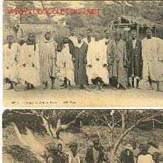 Postales: 2 POSTALES DE AFRICANOS. Lote 22218304