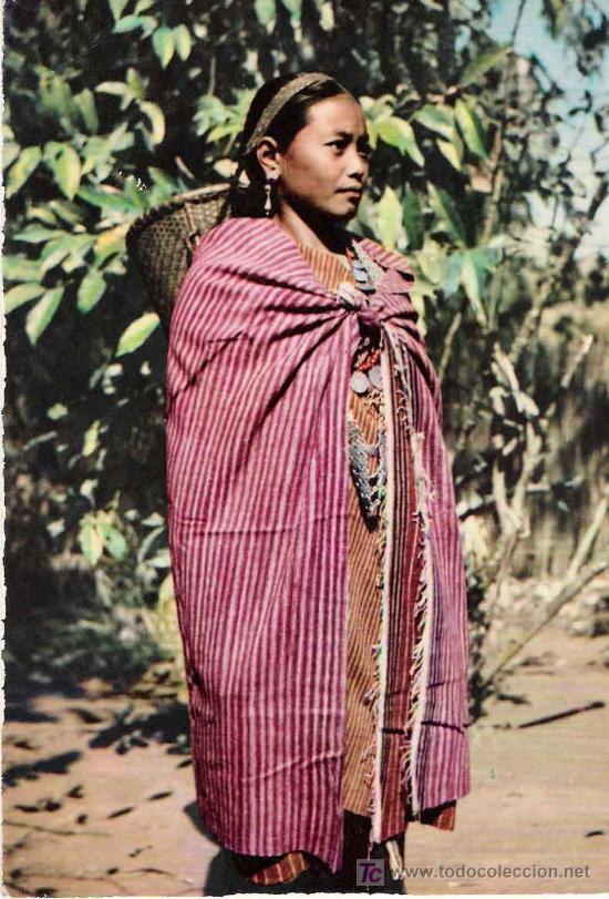POSTAL ÉTNICA: MODA MIKIR (INDIA) (Postales - Postales Temáticas - Étnicas)