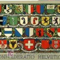 Postales: POSTAL DE LA CONFEDERACION HELVETICA. Lote 5682651