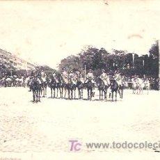 Postales: FIESTAS REALES 1902. 1 PARTE. LA CORONACIÓN (17 MAYO). PIQUETE DE PALAFRENEROS. Lote 18490786
