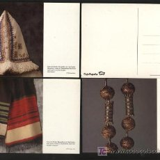 Postales: LOTE 9 POSTALES DE LA COLECCIÓN FONDOS ETNOGRÁFICOS DE CAJA ESPAÑA: JOYERÍA TRADICIONAL, MOBILIARIO . Lote 26980334