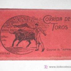 Postales: CORRIDA DE TOROS. CUADERNILLO DE 12 POSTALES DESPLEGABLES. L. ROISIN.. Lote 23956163
