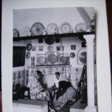 Postales: MALLORCA, ESCENA TIPICA EN CASA MULET, GENOVA. Lote 26926841