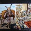Postales: ESPAÑA TIPICA. BURRITO Y PUESTO DE CERAMICA. Lote 11253881