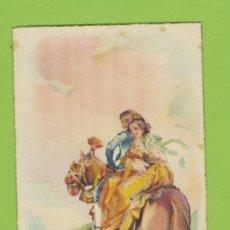 Postales: POSTAL ETNICA DIBUJO ARTURO BALLESTR TEMA VALENCIA JDP BARRACA Y PAREJA DE VALENCIANOS P 297. Lote 11591346
