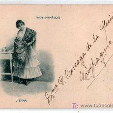 Postales: TARJETA POSTAL DE TIPOS ESPAÑOLES. JITANA. 527 ROMO Y FUSSEL, LIBRERIA. VER FOTO REVERSO. Lote 24530381