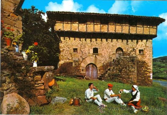 Caserio tipico vasco comprar postales antiguas tnicas - Caserios pais vasco ...