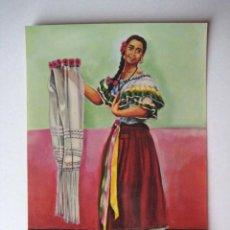 Postales: VESTIDO TIPICO DE POPAYAN-COLOMBIA- ÑAPANGA - SIN CIRCULAR. AÑOS 70. ENVIO GRATIS¡¡¡. Lote 17702472