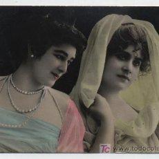Postales: POSTAL GALANTE. FRANQUEADO Y FECHADO EN 1908.. Lote 18049615
