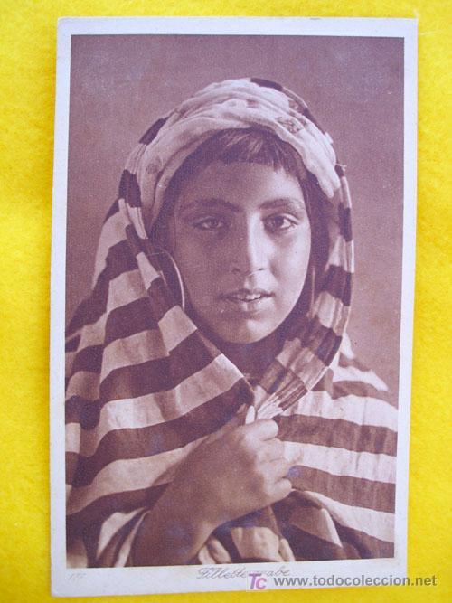 ANTIGUA POSTAL : FILLETTE ARABE. Nº 117 ED L&L (Postales - Postales Temáticas - Étnicas)