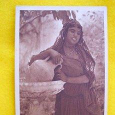Postales: ANTIGUA POSTAL : FEMME ARABE À LA FONTAINE. Nº 133 ED L&L. Lote 18625000