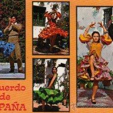 Postales: POSTAL SIN CIRCULAR RECUERDO DE ESPAÑA,VISTAS TIPICAS.. Lote 18672864