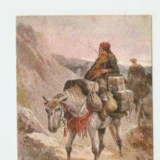 Postales: LITOGRAFÍA VIDA EN ESPAÑA - SMUGGLER - OILETTE . Lote 19337384