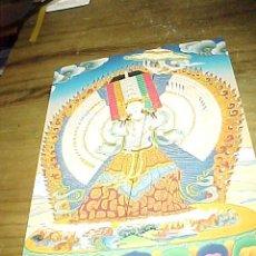 Postales: POSTAL BUDISTA DE DHUKAR. SURENDRA'S TIBETAN THANKA TREASURE.. Lote 24287688