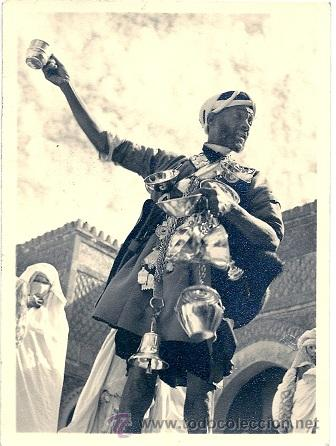 5689 - LE MOROC ARTISTIQUE - (PORTEUR D'EAU) FOTO EDICIONES G. GUILLET - 14,2 X 10,5 CM (Postales - Postales Temáticas - Étnicas)