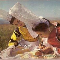 Postales: POSTAL A COLOR LA BRETAGNE EN COULEURS COSTUME DE BRETAGNE MX 4209 LA COIFFE DU PAYS BIGOUDEN ESCRIT. Lote 28262098