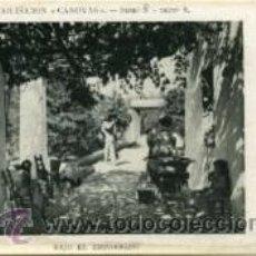 Postales: COLECCIÓN CÁNOVAS.- BAJO EL EMPARRADO.- SERIE Ñ Nº 8. Lote 28713452