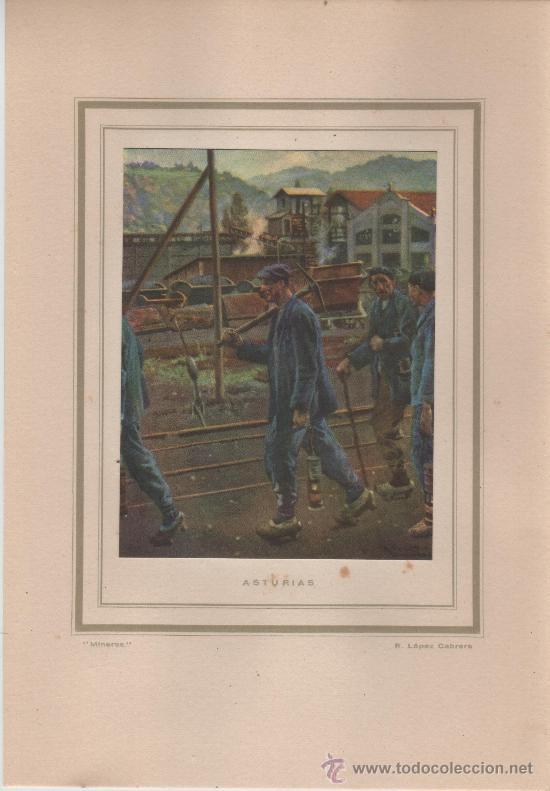 Postales: LAS REGIONES DE ESPAÑA REPRODUCCIONES A TODO COLOR DE RICARDO LOPEZ CABRERA - Foto 3 - 33637704