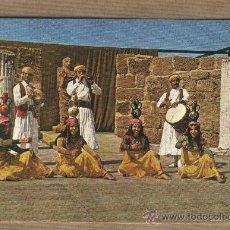 Postales: POSTAL BALLET CARTHAGE FOLLKLORE TUNISIEN. TUNEZ.. Lote 30517712