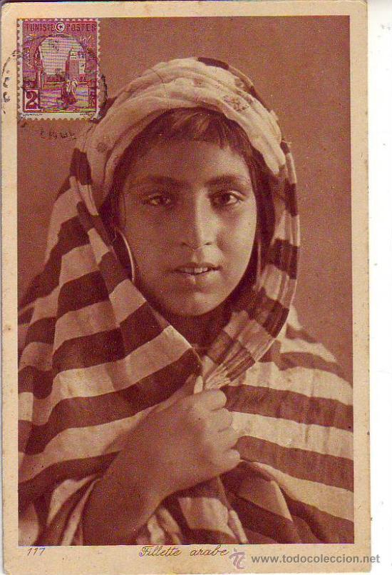 FILLETTE ARABE (Postales - Postales Temáticas - Étnicas)