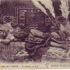 Postales: SCENES ET TYPES - LA SIESTE. Lote 33231616
