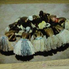 Postcards - mujeres danzantes africanas - sin circular - postales iris - 34241064