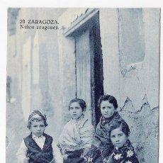 Postales: NIÑOS ARAGONESES-ZARAGOZA. Lote 34952488