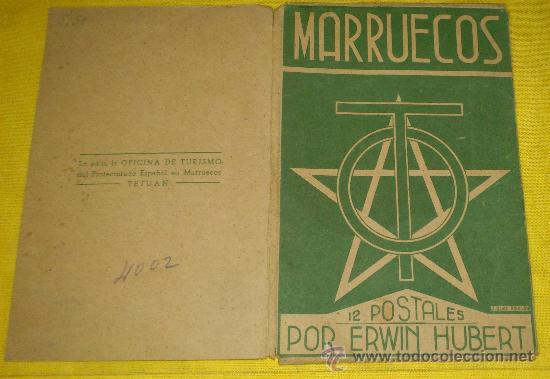 6 POSTALES LITOGRAFICAS DE ETNOGRAFIA MARROQUI, MARRUECOS POR ERWIN HUBERT DIBUJANTE (Postales - Postales Temáticas - Étnicas)