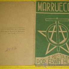 Postales: 6 POSTALES LITOGRAFICAS DE ETNOGRAFIA MARROQUI, MARRUECOS POR ERWIN HUBERT DIBUJANTE. Lote 36338277