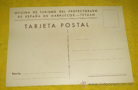 Postales: 6 POSTALES LITOGRAFICAS DE etnografia MARROQUI, MARRUECOS POR ERWIN HUBERT DIBUJANTE - Foto 8 - 36338277
