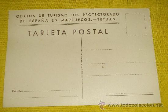 Postales: 6 POSTALES LITOGRAFICAS DE etnografia MARROQUI, MARRUECOS POR ERWIN HUBERT DIBUJANTE - Foto 10 - 36338277