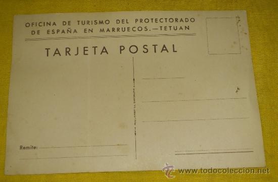 Postales: 6 POSTALES LITOGRAFICAS DE etnografia MARROQUI, MARRUECOS POR ERWIN HUBERT DIBUJANTE - Foto 12 - 36338277
