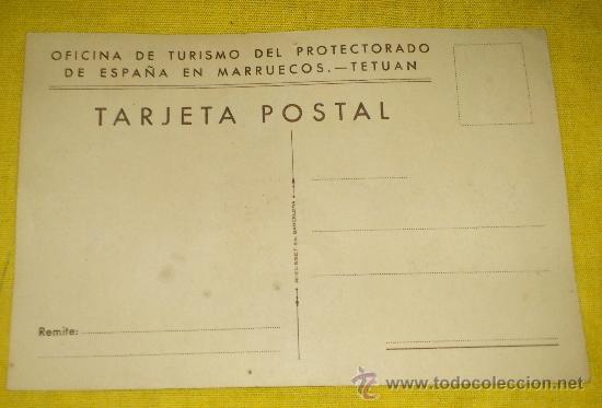Postales: 6 POSTALES LITOGRAFICAS DE etnografia MARROQUI, MARRUECOS POR ERWIN HUBERT DIBUJANTE - Foto 14 - 36338277