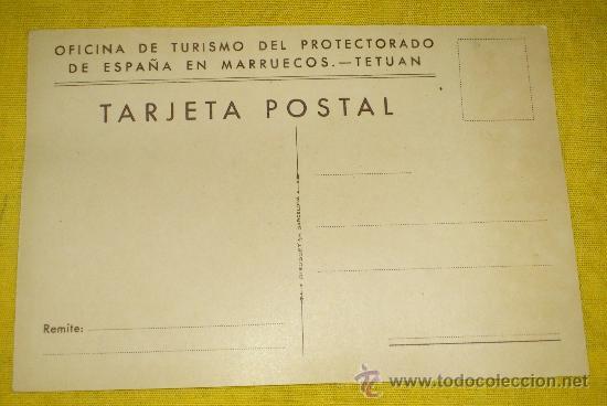 Postales: 6 POSTALES LITOGRAFICAS DE etnografia MARROQUI, MARRUECOS POR ERWIN HUBERT DIBUJANTE - Foto 16 - 36338277