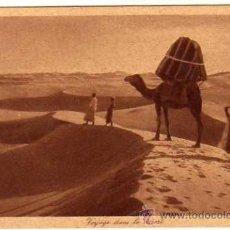 Postales: 146 VIAJE POR EL DESIERTO. NORTE AFRICA. EDITEURS L & L SIN CIRCULAR.. Lote 37192720