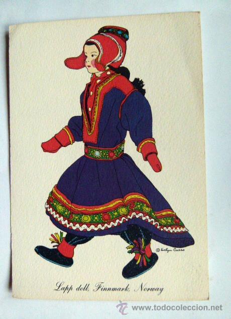 POSTAL (Postales - Postales Temáticas - Étnicas)